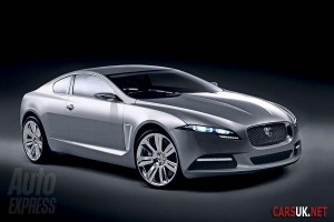 The 2010 Jaguar XF Coupe