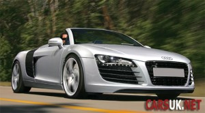 Audi R8 Spyder - launches late 2009