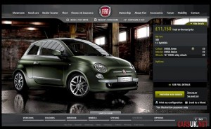 Fiat 500 byDIESEL Configurator