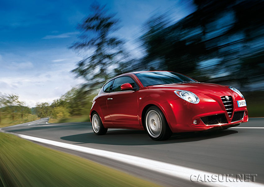 The Alfa Romeo MiTo has great driving dynamics