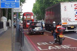 Boris lets motorbikes use Londons bus lanes