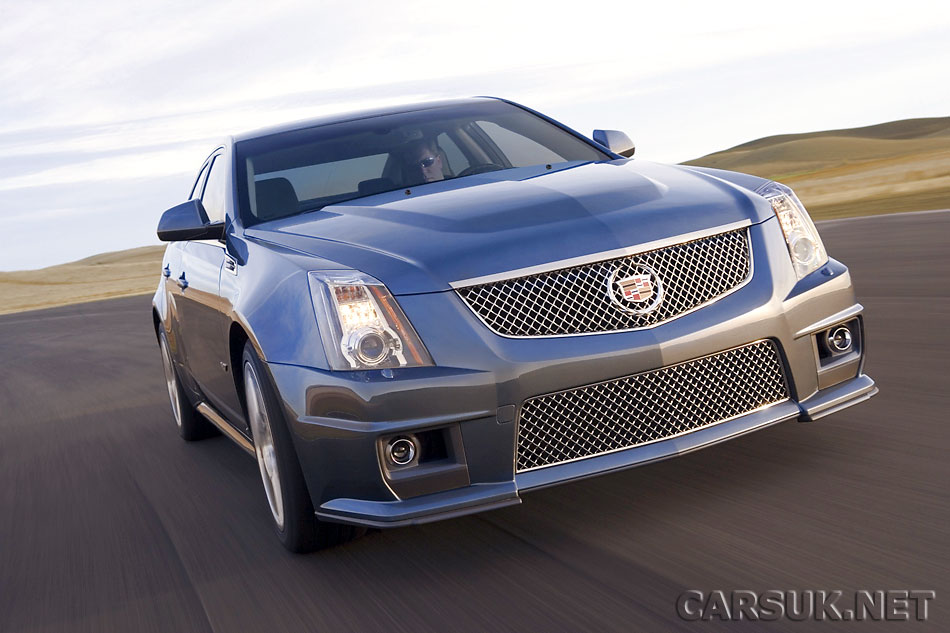 Cadillac CTS-V arrives in the UK in February