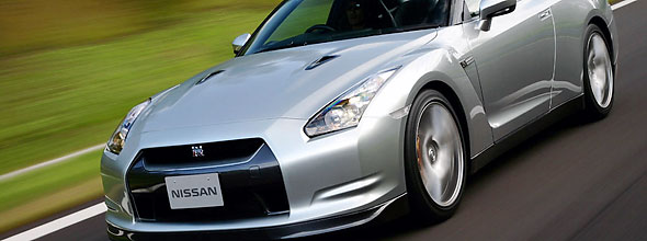 The electrifying Nissan GT-R