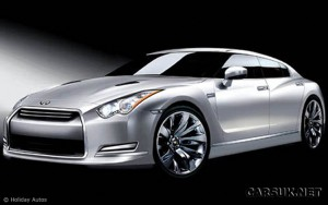 Nissan GT-R 4 Door - to be badged Infiniti