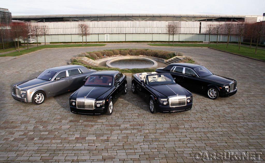 Rolls Royce Cars Uk. Rolls Royce range had a record
