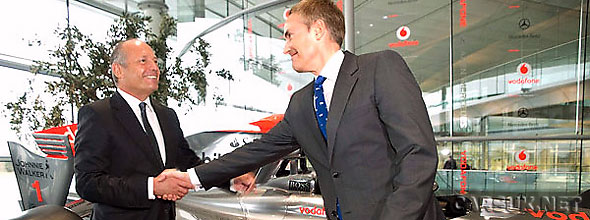 Martin Whitmarsh (pictured above with Ron Dennis) was relieved by todats verdict on the McLaren 'Liargate' controversy.