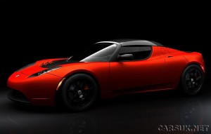 Tesla Roadster Sport - Launches mid 2009