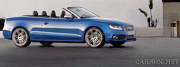 Audi A5 and Audi S5 Cabriolets announced