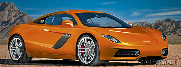 The 'Baby' McLaren - expected on sale in 2012