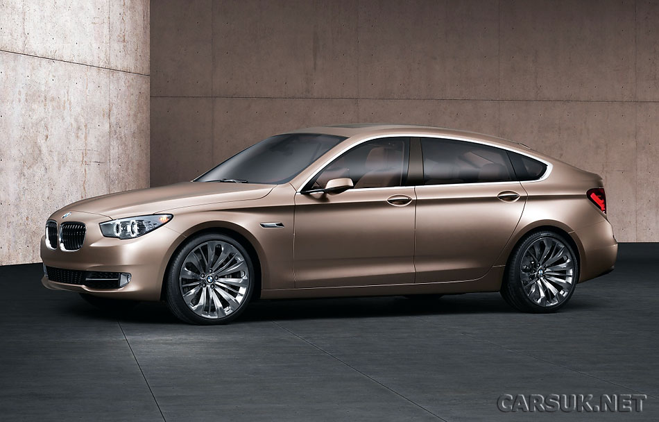 bmw 5 series gran turismo gt concept unveiled. Black Bedroom Furniture Sets. Home Design Ideas