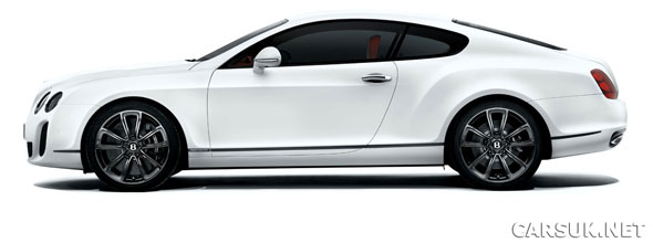 Bentley Continental Supersports - The fastest Bentley ever, Shows at Geneva '09