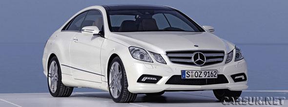 The new Mercedes Benz E-Class Coupe - not an E-Class at all