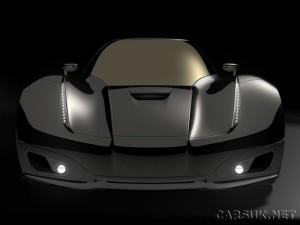 The Koenigsegg Quant - a 4 door saloon