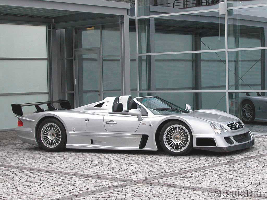 Mercedes Benz CLK-GTR – the Unique RHD versions