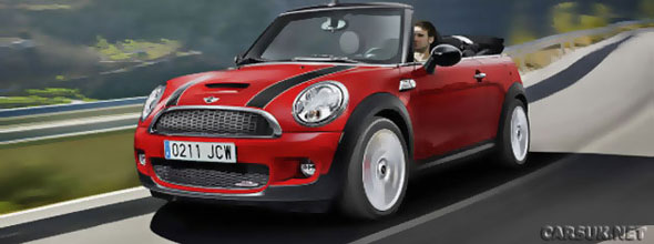 The Mini Cooper Cabriolet John Cooper Works to show at Geneva