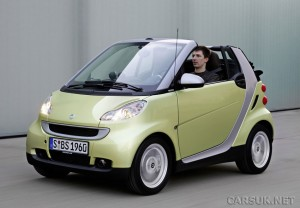 Smart fortwo limited edition three launches at Geneva '09