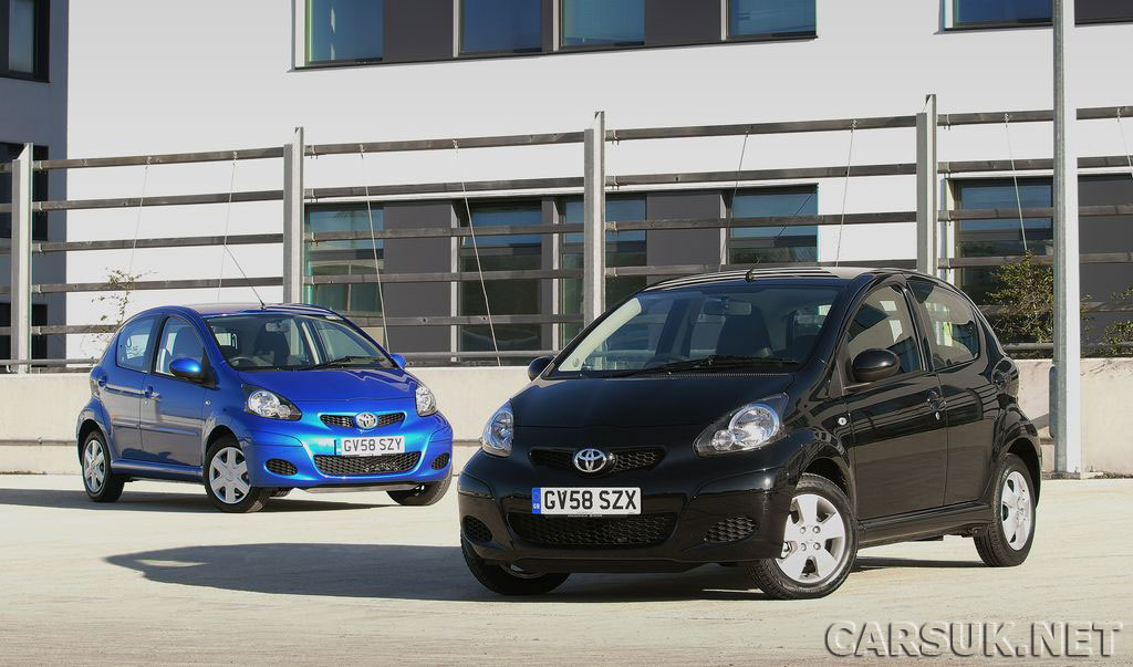Toyota Aygo updated for 2009 with new additions - The Toyota Aygo Black and