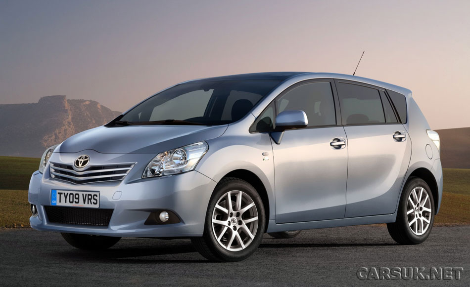 Toyota updates the Verso MPV. Posted: 11:23 am February 26, 2009 by CarsUK