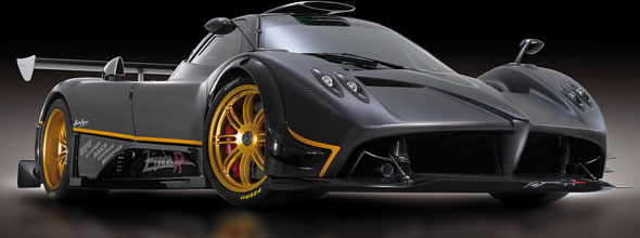 A Pagani Zonda R is up for grabs