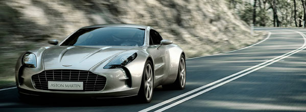 The new Aston Martin One-77 - made by CPP Manufacturing