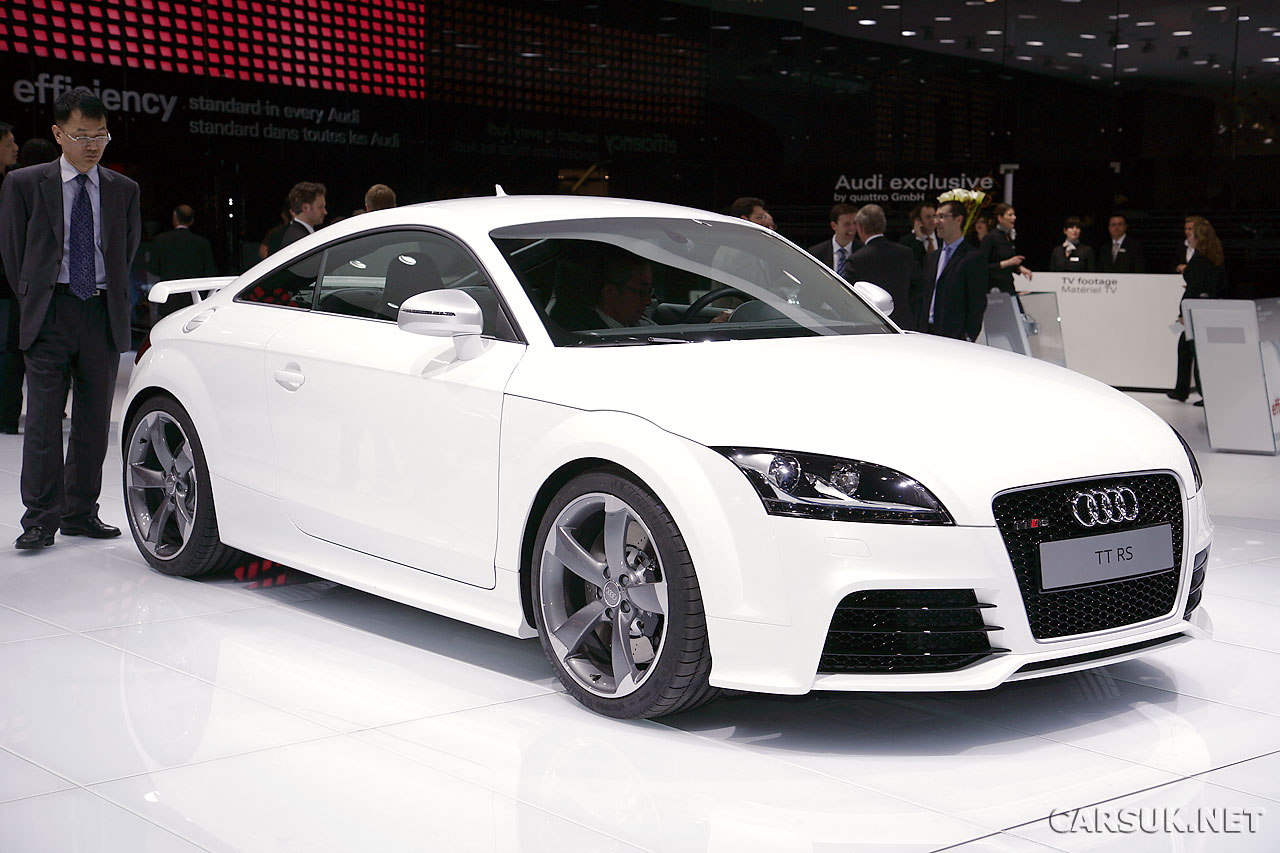 Audi TT RS official launch at Geneva 2009