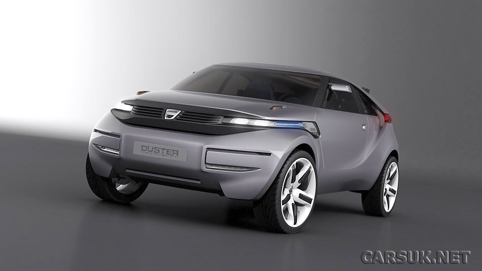 2011 Dacia Duster. The Funky Dacia Duster Concept