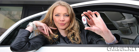 The Fiat Eco-Drive Challenge. Launched in London this week by Jodie Kidd.