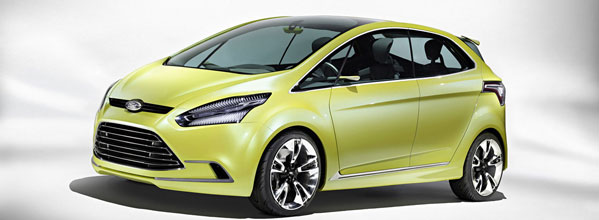 The Ford Iosis Concept - the new Ford B-Max