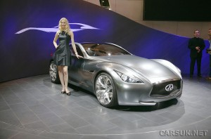The Infiniti Essence Coupe - Nissan's show stopper to raise brand awarebess for Infiniti ahead of its European launch