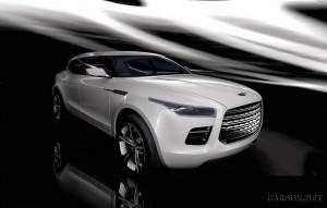 The Lagonda Concept - A super-luxuty, crossover, SUV thingy!