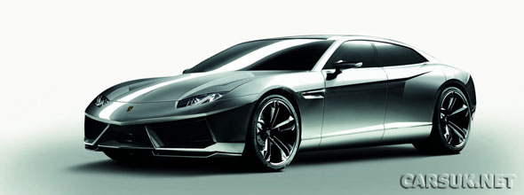The Lamborghini Estoque - Lamborghini has decided not to produce it.