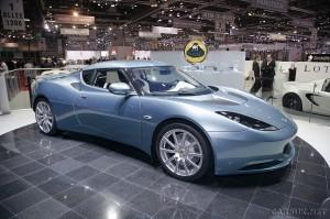 Lotus Evora 2+2 - UK Car Prices announced at Geneva 09
