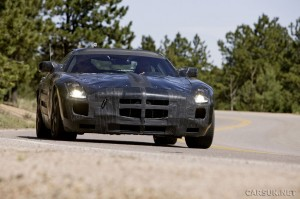 Mercedes Benz SLS AMG in a UK Car showroom near you - but not until 2010!