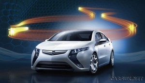 First Official picture of the Opel Ampera