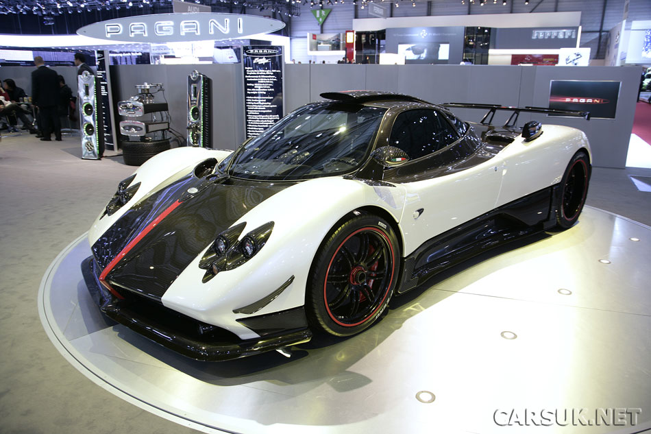 The mysterious Pagani F Cinque - which is actually a Regular Zonda Cinque