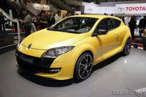 The Renault Megane RenaultSport (RS) becomes official at Geneva 2009