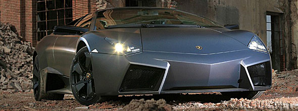 The Lamborghini Reventon Roadster may show at Pebble Beach