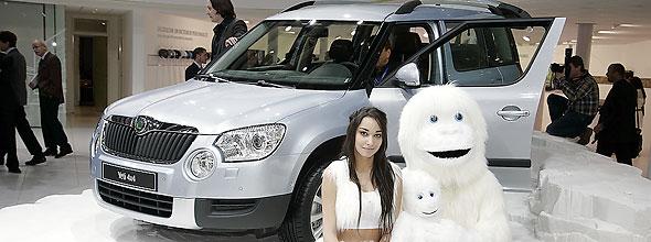 VW Tiguan-based Skoda Yeti - (N)ice car!