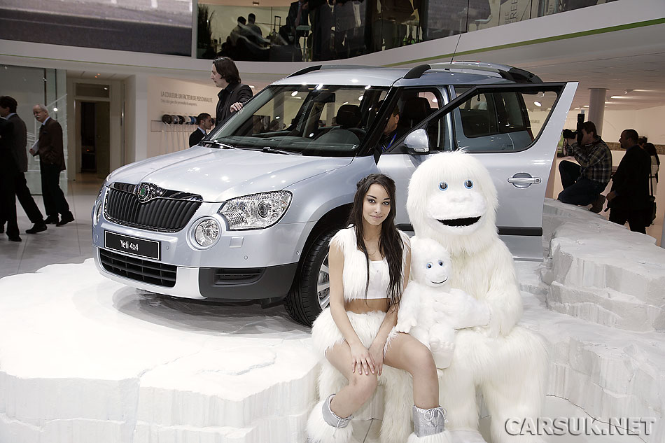 VW Tiguan-based Skoda Yeti - (N)ice car!