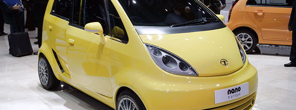 The Tata Nano Europe - expected to come to Europe as a sub £5k car