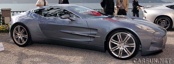 The Aston Martin One-77 will make its UK debut at Salon Prive in July