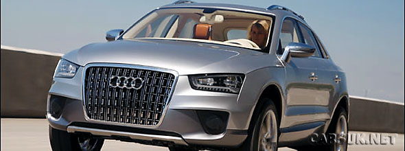 Audi will build the new Audi Q3 at a SEAT plant in SPain starting in 2011