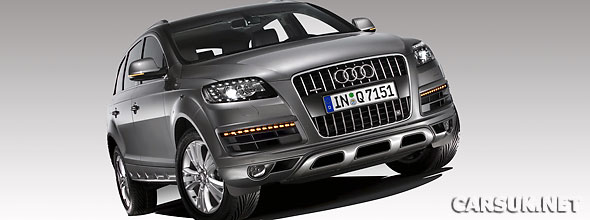 Audi has given the Q7 a facelift for 2009 (2010MY)