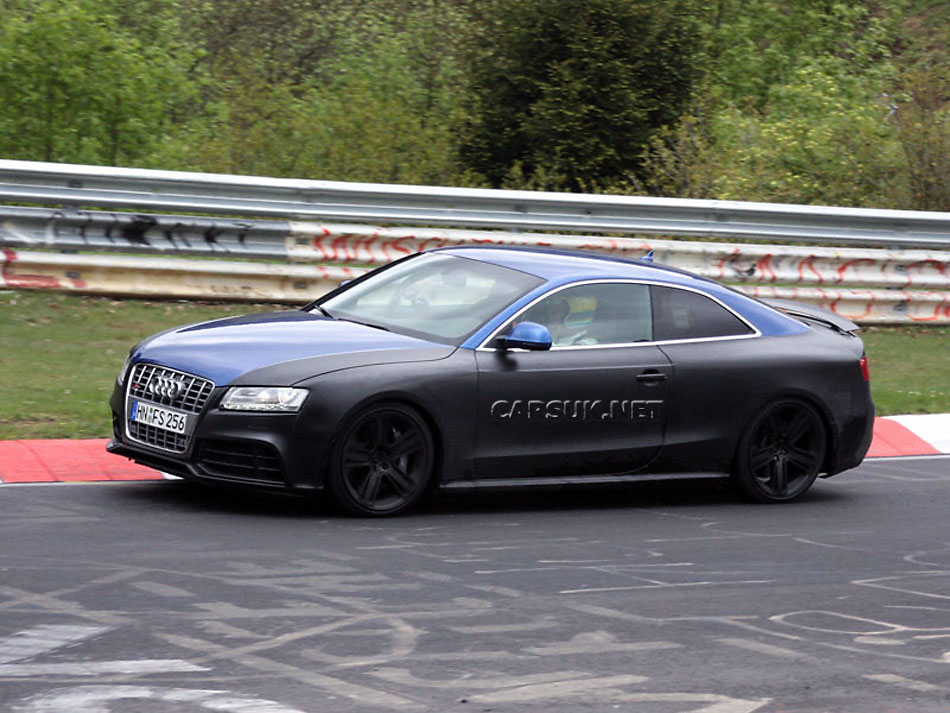 The last time we saw the Audi RS5 out testing at the Nurburgring,