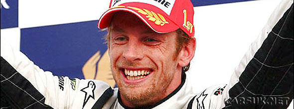 Button wins for Brawn GP in Bahrain - the third win of the F1 season for Button/Brawn GP