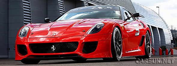 The Ferrari 599XX - a track Ferrari and a rolling test bed for technology