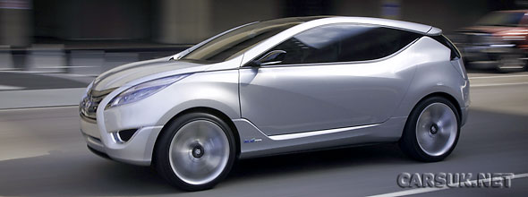 The Hyundai Nuvis Concept - a startlingly good crossover concept from Hyundai