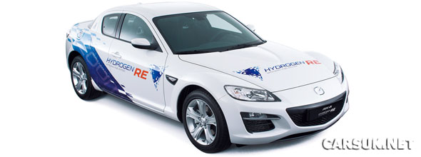 Mazda is to supply Hydrogen powered RX-8 for Norways HyNor project