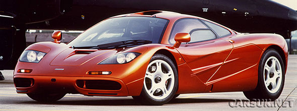 The McLaren F1 - NOT the 'New' car for sale - we're not allowed to show that picture!