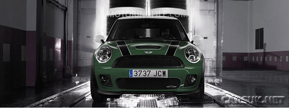 The MINI John Cooper F1 will get a custom British Racing Green paint job.
